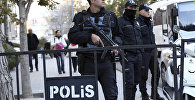 Турецкие полицейские, фото из архива