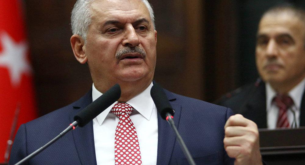 Türkiyənin baş naziri Binəli Yıldırım