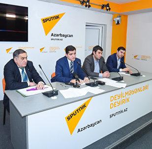 Пресс-конференция руководителя аналитического центра Атлас Эльхана Шахиноглу, посвященная подведению итогов 2016 года с позиции урегулирования нагорно-карабахского конфликта