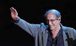 Итальянсий актер Адриано Челентано, 18 февраля 2012 года