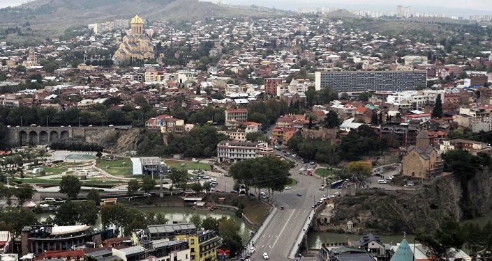 Исторический центр в Тбилиси, фото из архива