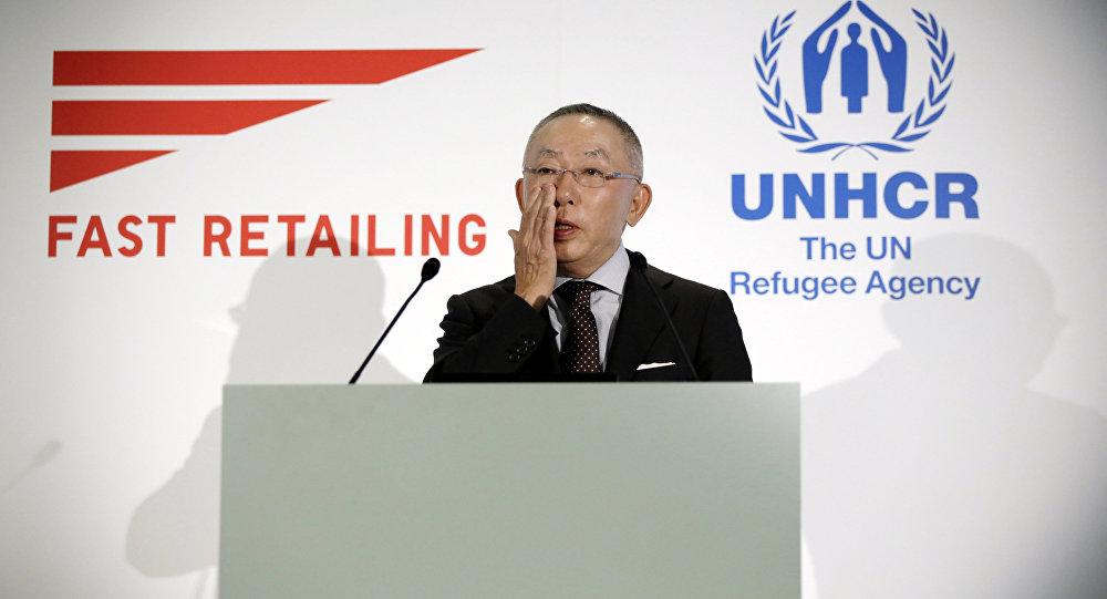 Uniqlo geyim firmasının qurucusu Tadashi Yanai