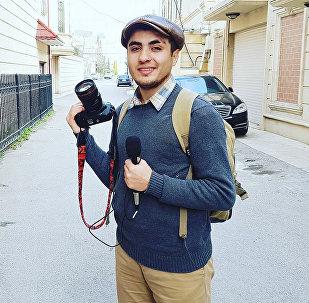 Blogger Mehman Hüseynov
