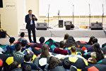 İslam Həmrəylik Oyunlarının kollektivi ilk tədbirini könüllülərə həsr edib
