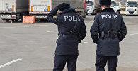 Азербайджанские полицейские, фото из архива