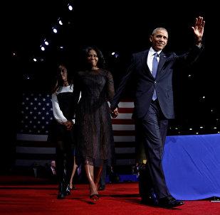 Barak Obama ailəsi ilə