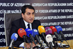 Глава пресс-службы МИД Азербайджана Хикмет Гаджиев, фото из архива