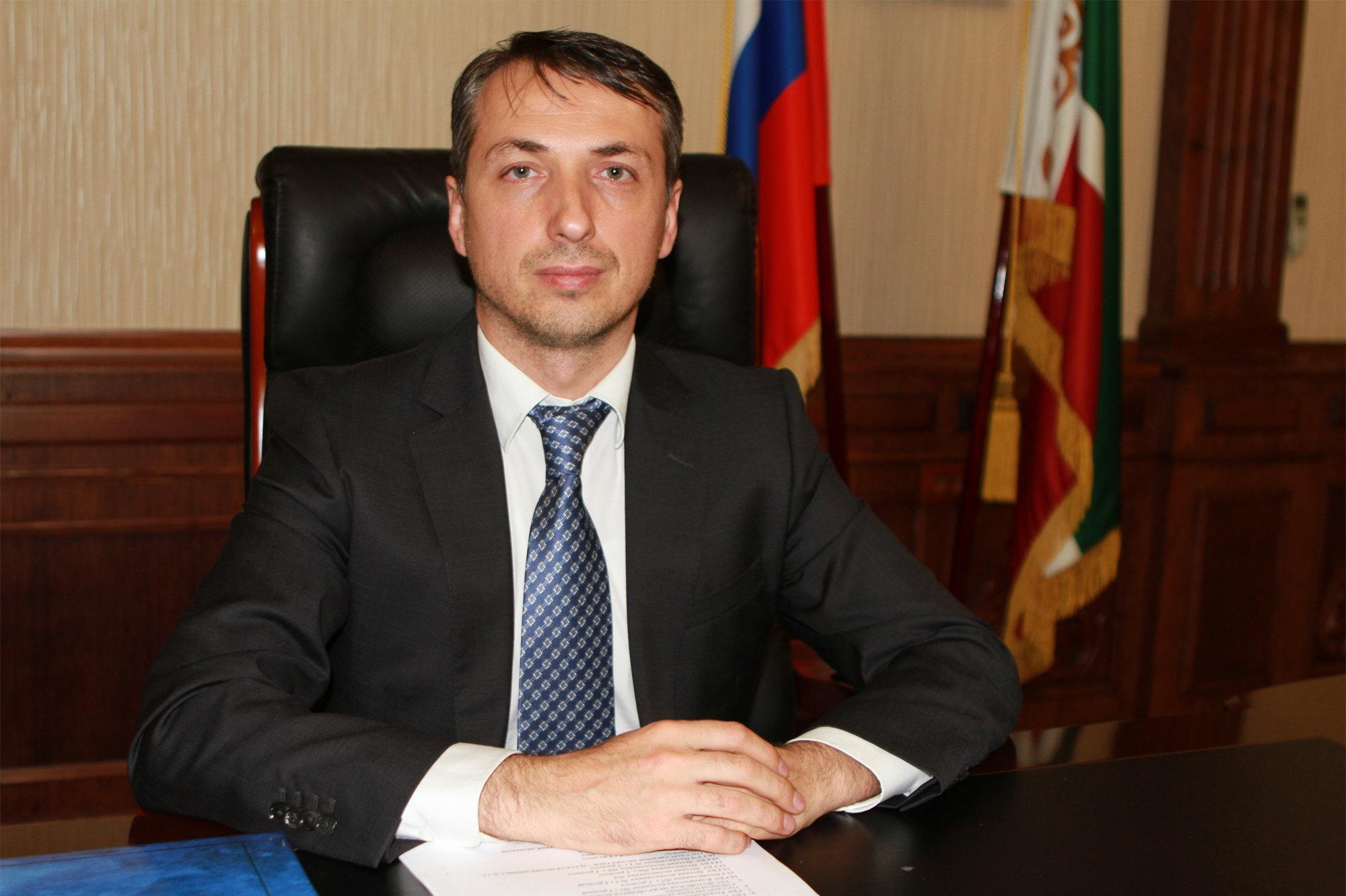 Министр здравоохранения Чеченской Республики Эльхан Сулейманов, фото из архива