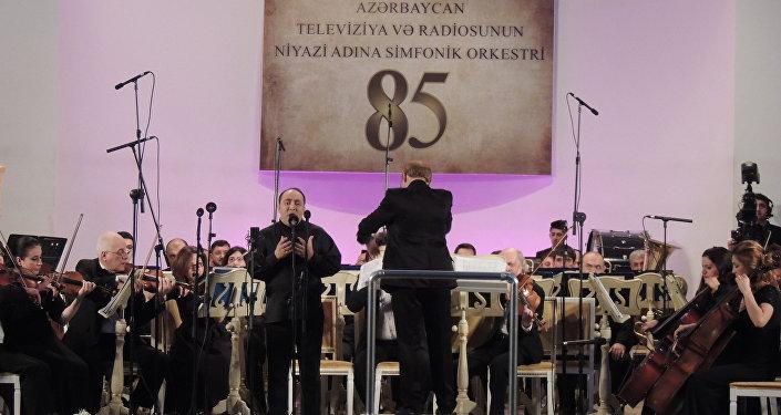 85-летие Азербайджанского симфонического оркестра телевидения и радио имени Ниязи