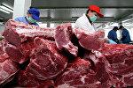 Заготовка мяса, фото из архива