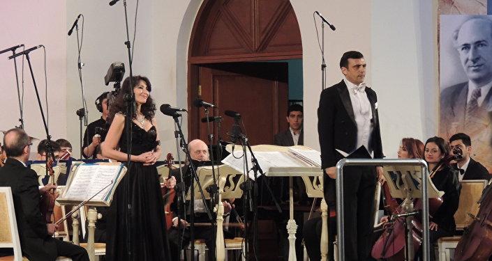 Концетр посвященный 85-летию Азербайджанского симфонического оркестра телевидения и радио имени Ниязи