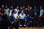 Актеры театра ƏSA, архивное фото