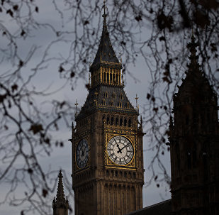 Часовая башня Вестминстерского дворца в Лондоне