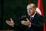 Президент Турции Реджеп Таййип Эрдоган, фото из архива