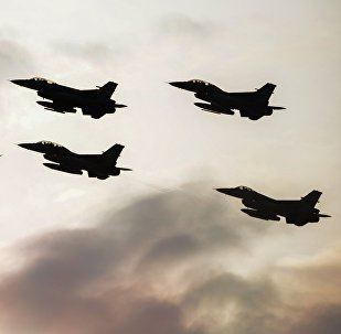Истребители F16 турецких BBC, фото из архива