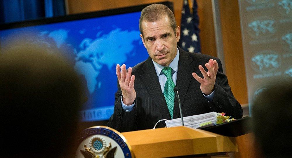 ABŞ Dövlət Departamentinin sözcüsü Mark Toner