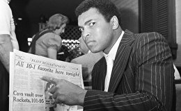 Боксер-тяжеловес Мохаммед Али, 24 марта 1975 года