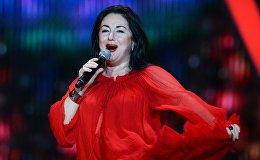 Певица Тамара Гвердцители выступает в третий день Международного конкурса молодых исполнителей популярной музыки Новая Волна 2016 в Сочи