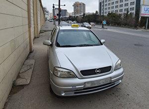 Такси в Баку, фото из архива