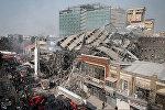 Пожар и обрушение торгового центра Plasco в Тегеране, архивное фото