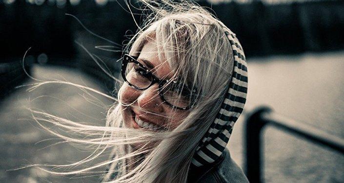 Девушка из Литвы, фото из архива