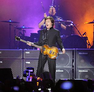 Концерт Пола Маккартни в Москве
