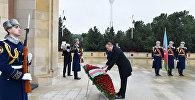 Президент Ильхам Алиев почтил светлую память шехидов