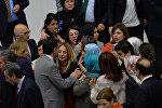 Türk parlamentində növbəti dava