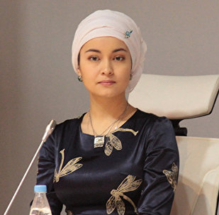Казахстанская актриса Бибигуль Актан Суюншалина