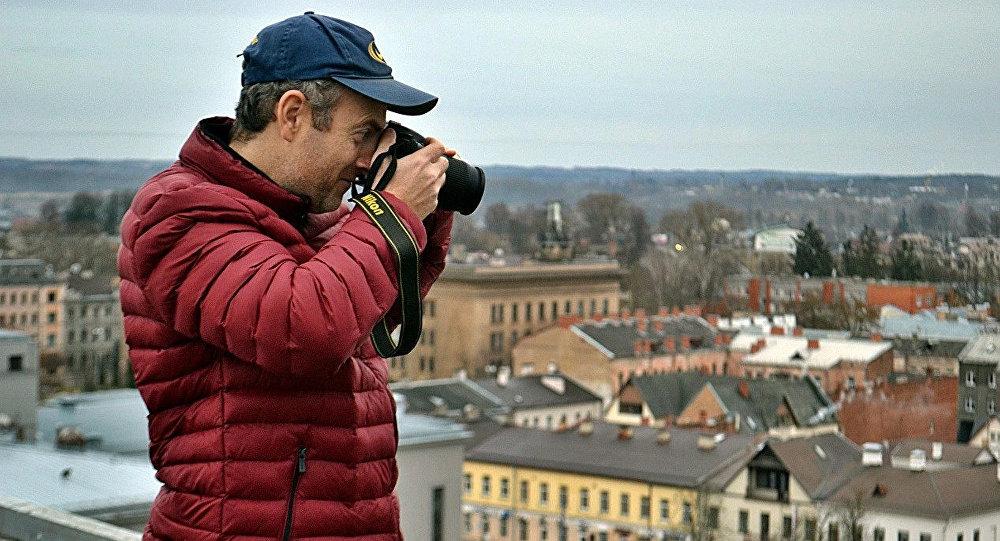 Блогер Александр Лапшин, фото из архива