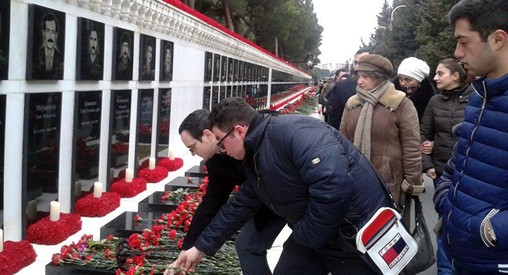 Президент Азербайджана почтил светлую память шехидов