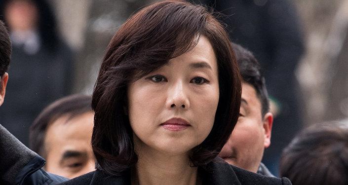 Министр культуры, спорта и туризма Южной Кореи Чо Юн Сун