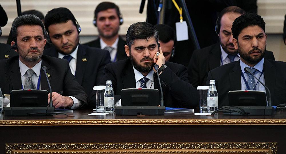 Делегация оппозиции Сирии прибудет вАстану ночью