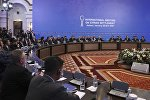 Qazaxıstanın paytaxtı Astanada Suriya üzrə danışıqların ikinci — sonuncu mərhələsi başlayıb