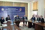 Пресс-конференция министра труда и социальной защиты населения Салима Муслимова
