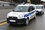 Автомобили Патрульно-постовой службы в Баку
