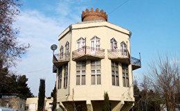Азербайджанский необычный чайный дом приглашает на чаепитие