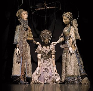 В Бакинском театре марионеток была представлена мугамная опера Лейли и Меджнун