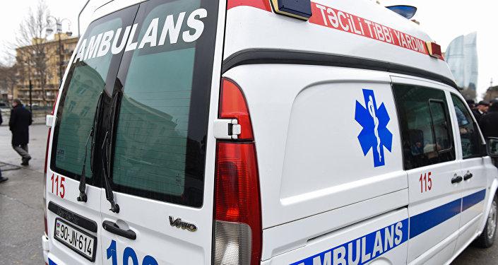 Карета скорой помощи, фото из архива