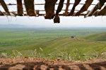 Вид на освобожденное от оккупации село Чоджук Марджанлы Джабраильского района