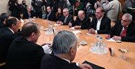 Встреча главы МИД РФ С. Лавров с представителями сирийской оппозиции, архивное фото
