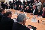 Встреча главы МИД РФ С. Лавров с представителями сирийской оппозиции