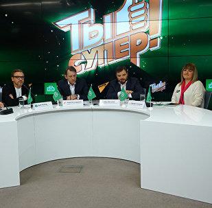 НТВ в партнёрстве со Sputnik представил новое шоу Ты супер!