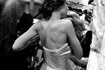 Мая Багирова за кулисами Недели моды в Париже