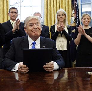 Prezident Donald Tramp