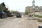 Ремонт дорожного покрытия, фото из архива