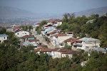 Азербайджанский город Ханкенди, находящийся под оккупацией Армении