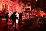 Акции протеста в Афинах, Греция, фото из архива