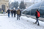 Состояние тротуаров после снега