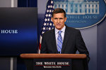 Брифинг советника президента США по национальной безопасности Майкла Флинна в Белом доме, 1 февраля 2017 года